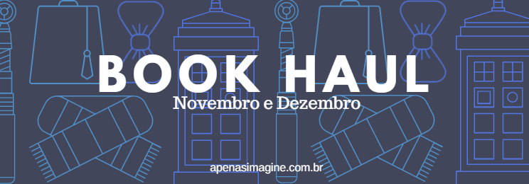 capa book haul novembro e dezembro